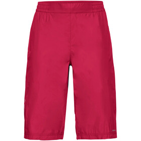 VAUDE Drop Korte Broek Dames, cranberry